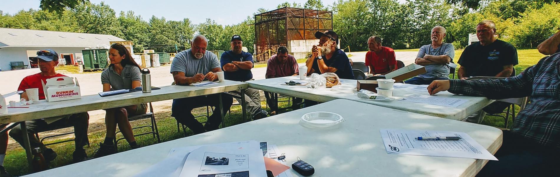 outside NRRA members meeting