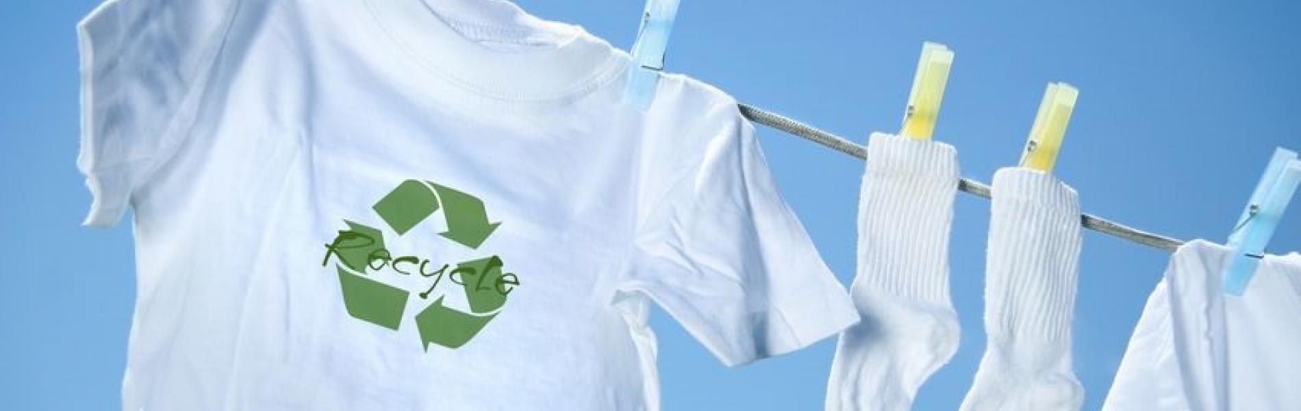 t-shirt on clothesline