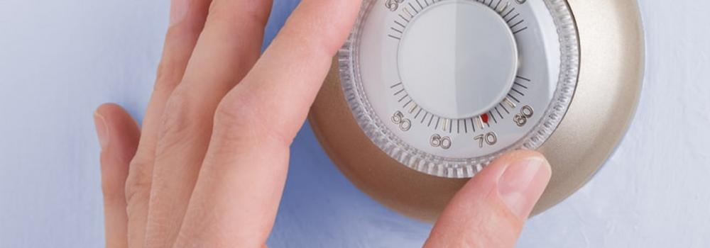 Dial thermostat