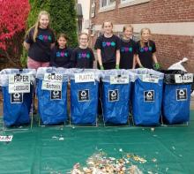 Fuller School Girl Scouts at TOLD