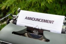 Announcement text